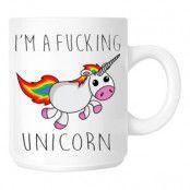 Mugg I Am A Fucking Unicorn