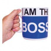 Mugg I Am the Boss XL