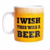 Mugg  I wish this was a beer XL