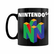 Nintendo 64 Mugg