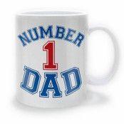 Number 1 Dad Mugg