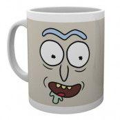 Rick And Morty Mugg Rick Face