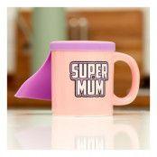 Super Mum Mugg med Cape