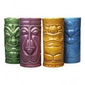 Tiki Mugg Set - 4-pack