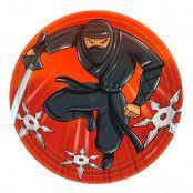 Ninja Pappersassietter - 8-pack