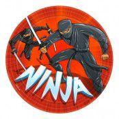 Ninja Papperstallrikar - 8-pack