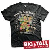 Ninja Warriors - No Rules Big & Tall T-Shirt, Big & Tall T-Shirt