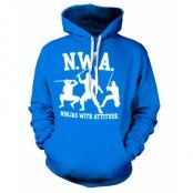 Ninjas With Attitude Hoodie, Hooded Pullover