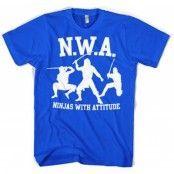 Ninjas With Attitude T-Shirt, Basic Tee