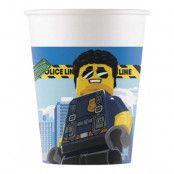 Pappersmuggar Lego City Ninjago - 8-pack