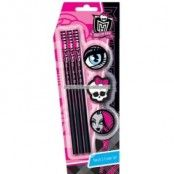Monster high penna med suddigumsset
