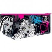 Monster High stort platt pennfodral