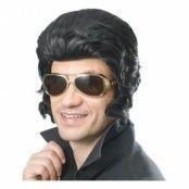 Elvisperuk med Polisonger - One size