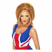 Ginger Spice Peruk - One size