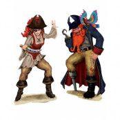 2 st Stora Pirat Scene Setter Add-ons