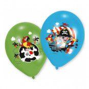 Ballonger med Pirater - 6-pack