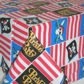 Bordsduk i plast Piratparty - 137 x 259 cm