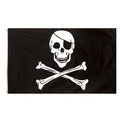 Flagga Jolly Roger