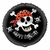 Folieballong Födelsedag Piratkalas