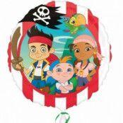 Folieballong - Jake & The Pirates 45 cm