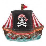 Folieballong Piratskepp Jolly Roger - 1-pack