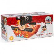 Le Toy Van Little Captn Pirate Boat
