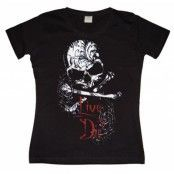 Live To Die Girly T-shirt, Girly T-shirt