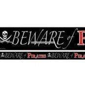 Beware of Pirates fest tejp