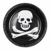 Papptallrikar Pirat
