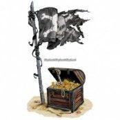 Pirat skatt add-on till dekorbakgrund