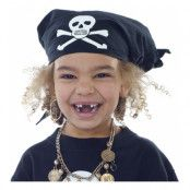 Piratbandana Svart - One size