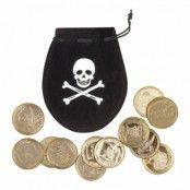 Piratpung med guldmynt