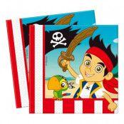 Servetter Jake och Piraterna - 20-pack