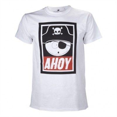 South Park - Cartmans Pirate Ahoy T-Shirt, Basis Tee