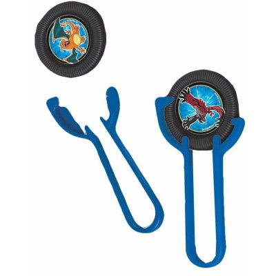 12 stk Mini Disc Shooters - Pokémon Fest