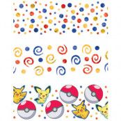 Bordskonfetti - Pikachu och Pokémon-Vänner
