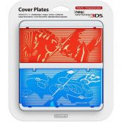 Cover Plate For New 3DS Pokemon Red & Blue