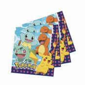 Dukning, Pokémon Servetter 23x23 16 st