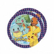 Dukning, Pokémon Tallrikar 28 cm 8 st