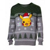 Jultröja Pokémon Pikachu, XL