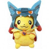 Mega Lucario Pikachu Poncho