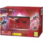 Nintendo 3DS XL Röd Pokemon XY