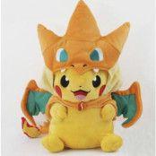 Pikachu With Charizard Hat