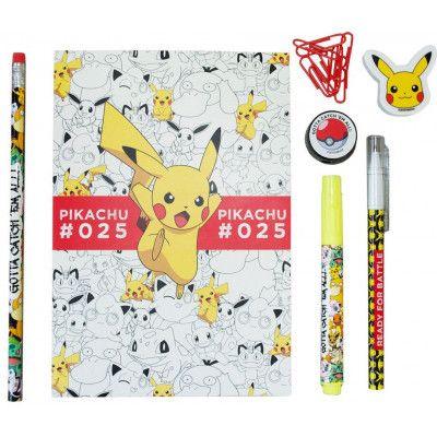 Pokemon - 7-Piece Stationery Set