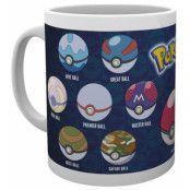 Pokemon - Ball Varieties Mug