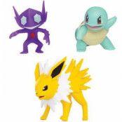 Pokemon - Battle Figure Set - Jolteon, Squirtle & Sableye