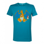 Pokemon Charizard Turquoise Medium