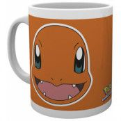 Pokemon - Charmander Face Mug