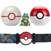 Pokemon Clip 'N Go Poke Ball Belt Munchlax