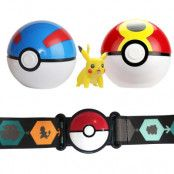 Pokemon Clip 'N Go Poke Ball Belt Pikachu